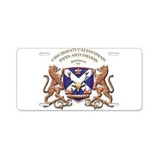 Cute St andrews cross Aluminum License Plate
