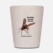 Cicada Killer Shot Glass
