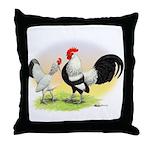 Dutch Bantams Throw Pillow