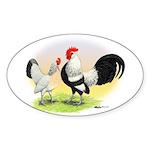 Dutch Bantams Oval Sticker