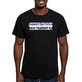 Anti war Fitted T-shirts (Dark)