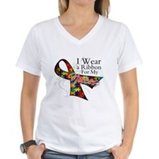 For My Nieces Autism Ribbon Shirt
