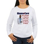 Anti Obamacare Women's Long Sleeve T-Shirt