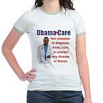 Anti Obamacare Jr. Ringer T-Shirt