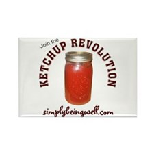 Join the Ketchup Revolution Rectangle Magnet