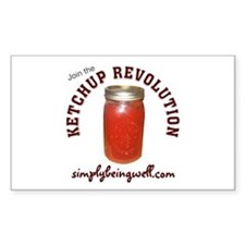 Join the Ketchup Revolution Decal
