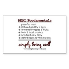 REAL Foodamentals Decal