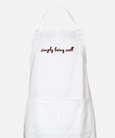 Simply Being Well Apron