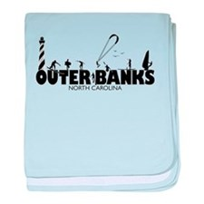 OBX watersports baby blanket