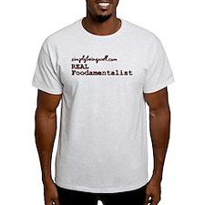 REAL Foodamentalist T-Shirt