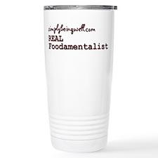 REAL Foodamentalist Travel Mug