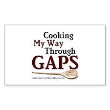 Cooking My Way Through GAPS Decal