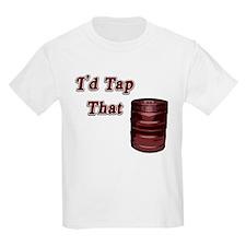 I'd Tap That Kids T-Shirt
