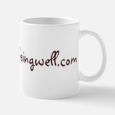 www.simplybeingwell.com Mug