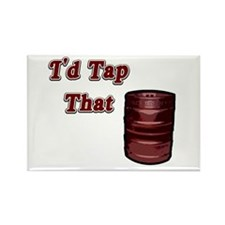I'd Tap That Rectangle Magnet