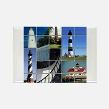 Outer Banks Lighthouses Rectangle Magnet