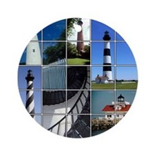 Outer Banks Lighthouses Ornament (Round)