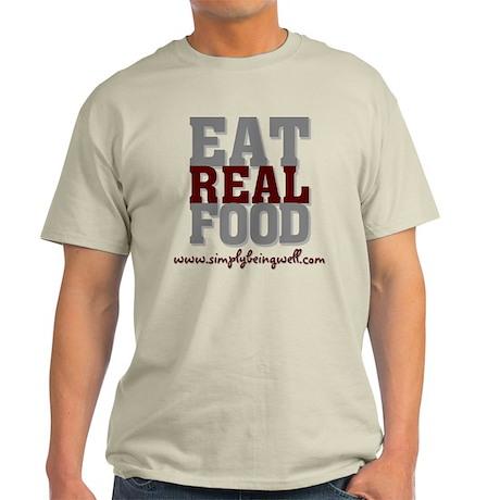 Eat REAL Food! Light T-Shirt