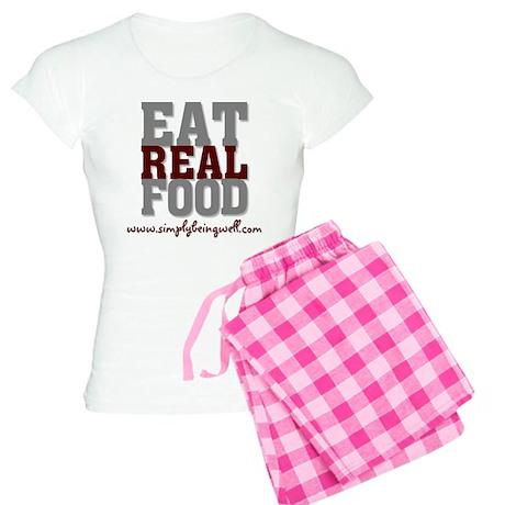 Eat REAL Food! Women's Light Pajamas