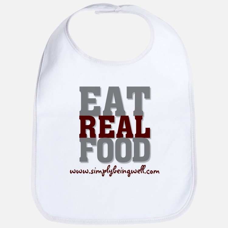 Eat REAL Food! Bib