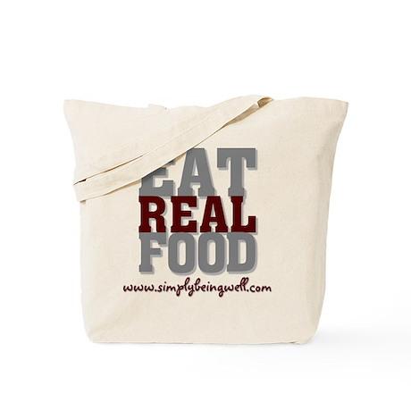 Eat REAL Food! Tote Bag