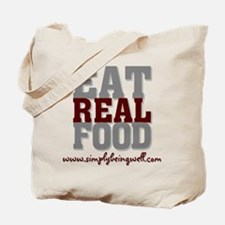 Eat REAL Food! Tote Bag