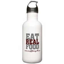Eat REAL Food! Water Bottle