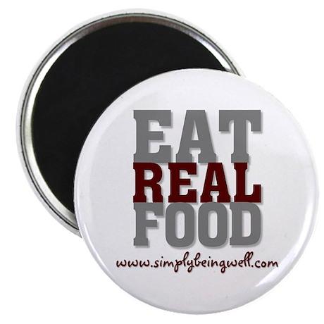 Eat REAL Food! Magnet