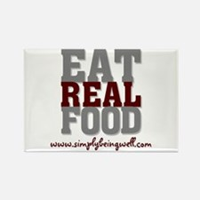 Eat REAL Food! Rectangle Magnet