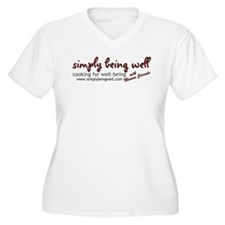 Simply Being Well: Cooking Fo T-Shirt