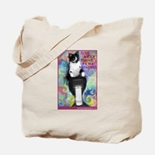 Keep Those Paws Moving! Tote Bag