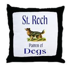 St. Roch Throw Pillow