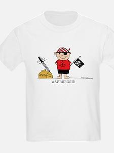 Pirate Boy 1 Kids T-Shirt
