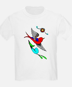 Vintage Tattoo Kids T-Shirt