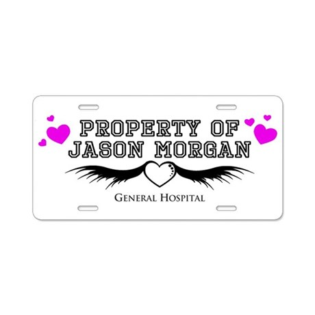 Jason General Hospital Aluminum License Plate