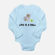 Maltese Life Long Sleeve Infant Bodysuit