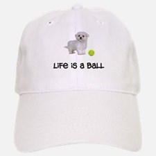 Maltese Life Baseball Baseball Cap