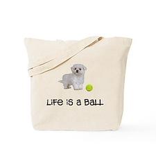 Maltese Life Tote Bag