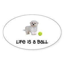 Maltese Life Decal