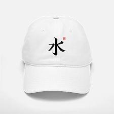 Kanji Water Baseball Baseball Cap