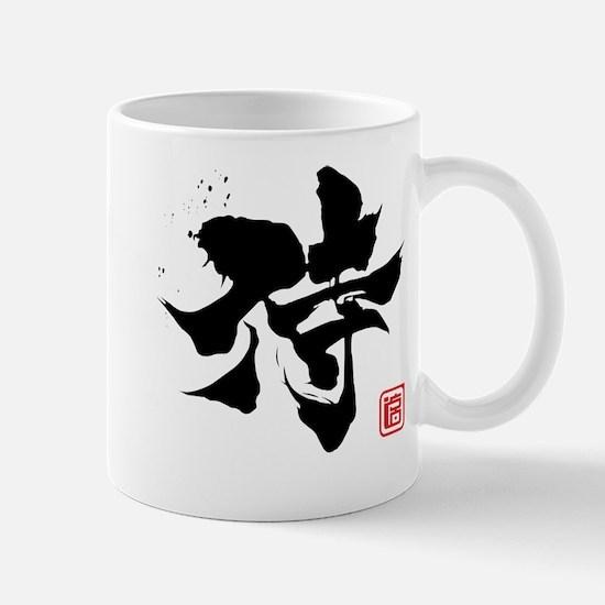 Kanji Samurai Mug