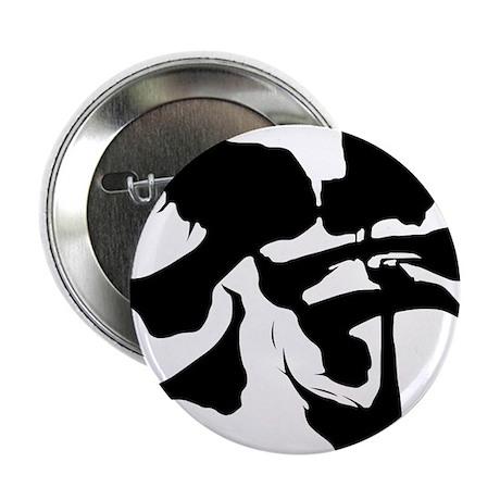"""Kanji Samurai 2.25"""" Button (10 pack)"""