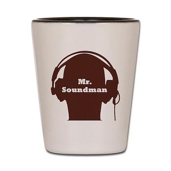 Mr. Soundman Shot Glass