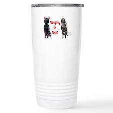 naughty or nice? Travel Coffee Mug