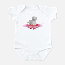 Maltese Valentine Infant Bodysuit