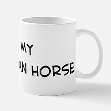 I Love Carthusian Horse Mug