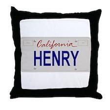 California Henry Throw Pillow