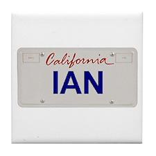 California Ian Tile Coaster
