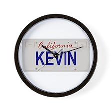 California Kevin Wall Clock