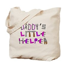 New dad to daughters Tote Bag